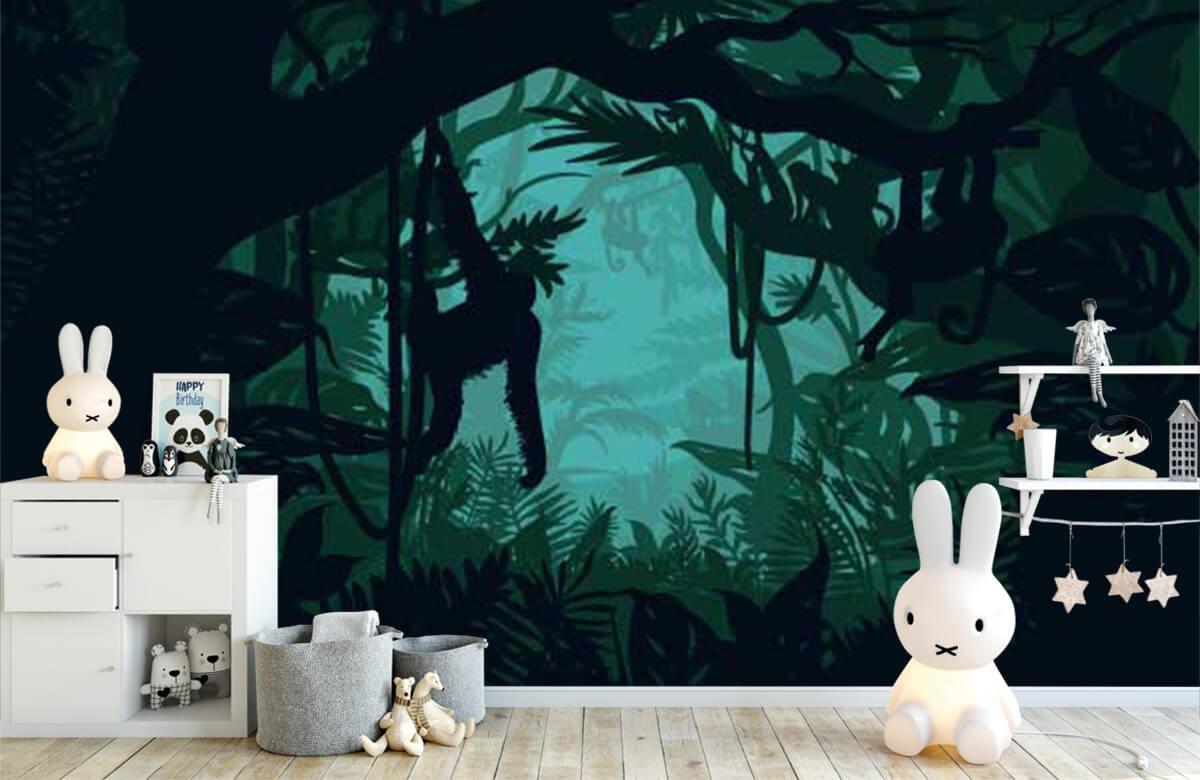 Jungle Aap in de jungle 1