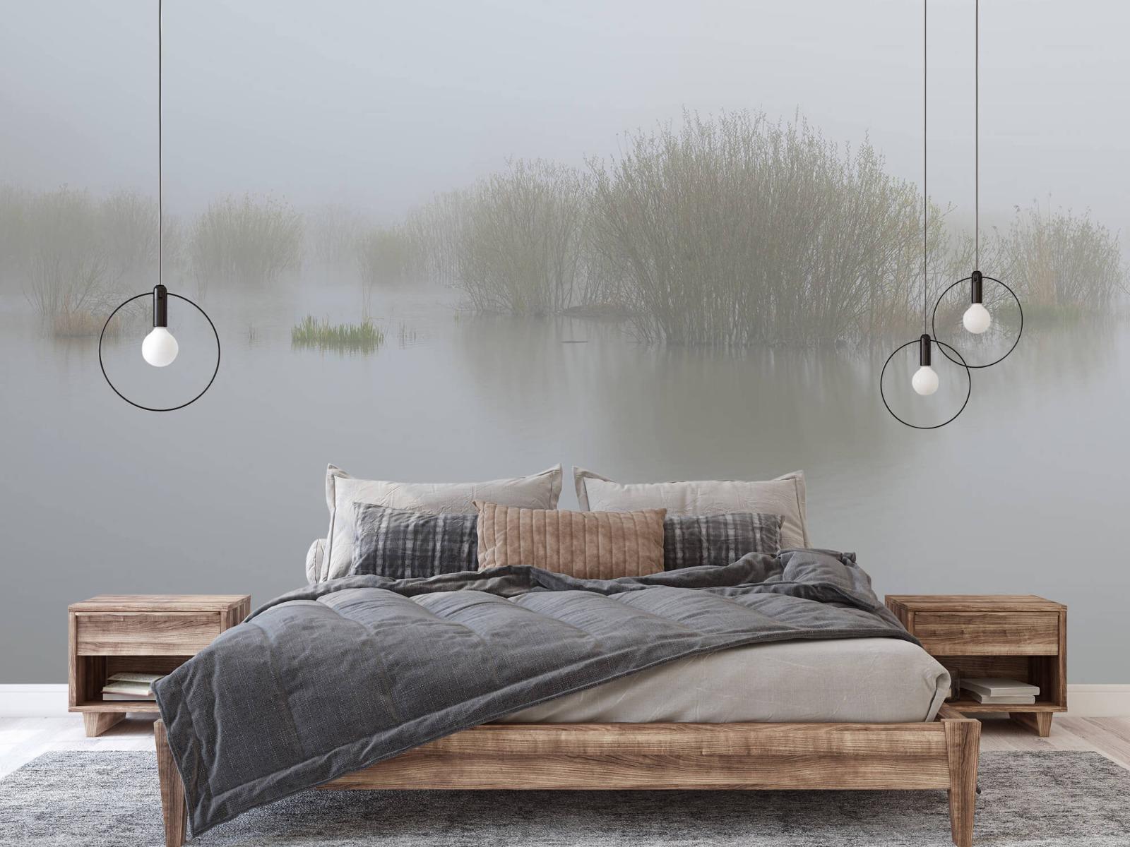 Landschap - Mist in natuurgebied - Slaapkamer 2
