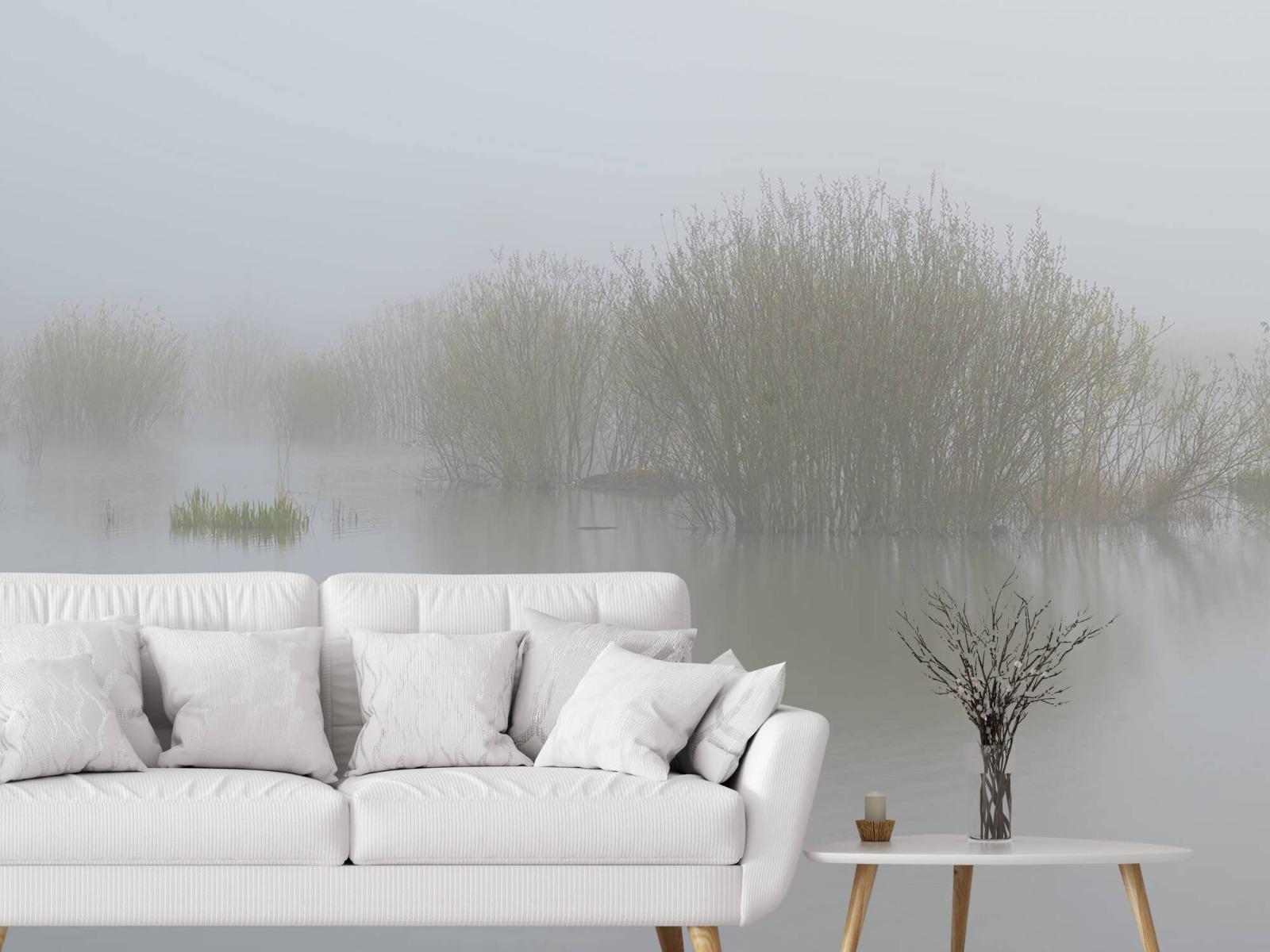 Landschap - Mist in natuurgebied - Slaapkamer 3