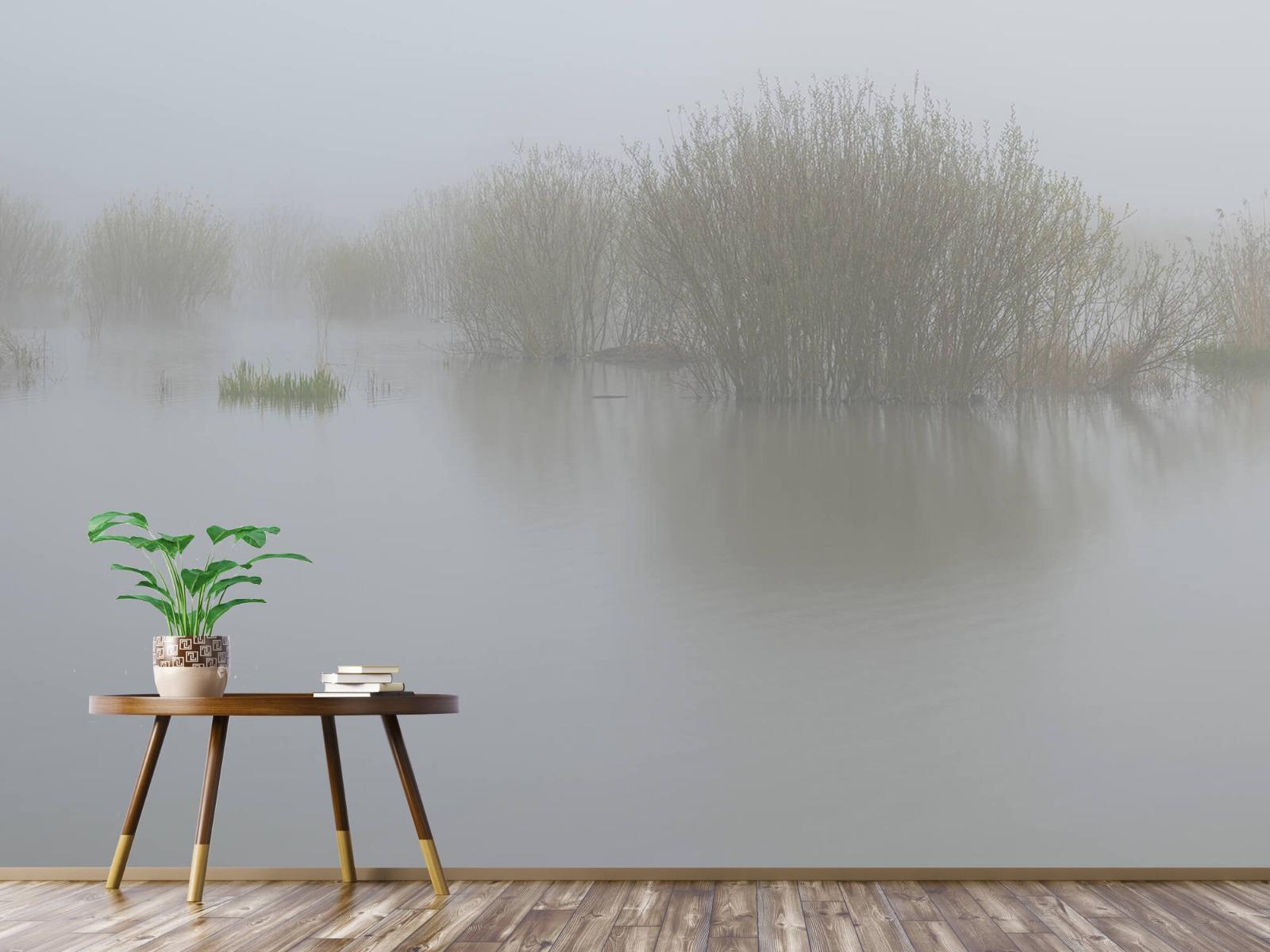 Landschap - Mist in natuurgebied - Slaapkamer 4