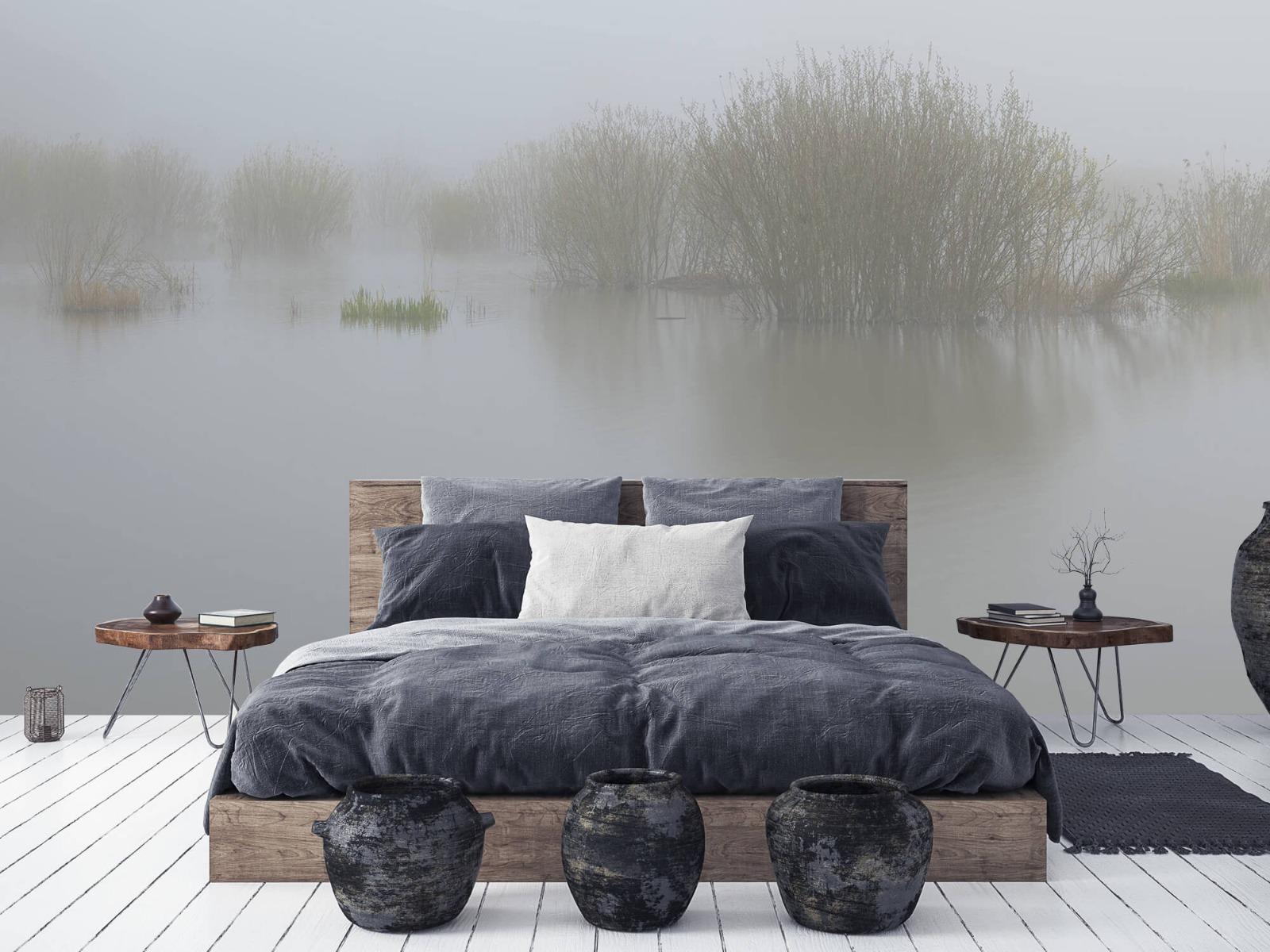 Landschap - Mist in natuurgebied - Slaapkamer 6