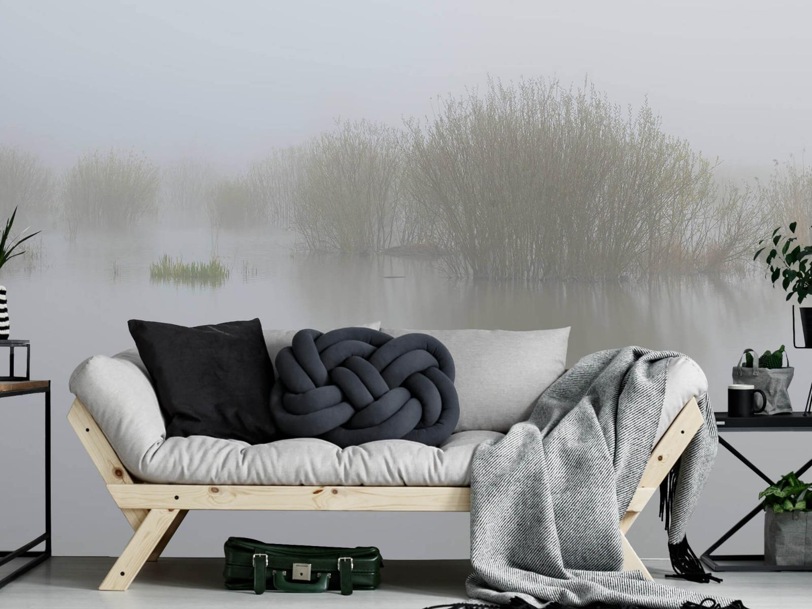 Landschap - Mist in natuurgebied - Slaapkamer 7