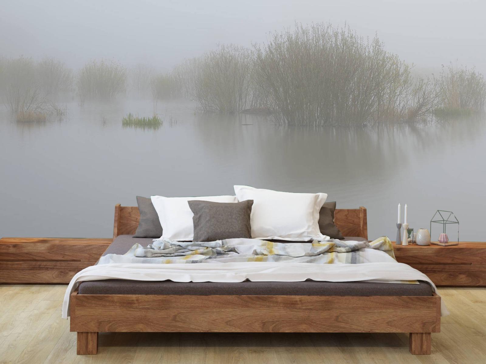 Landschap - Mist in natuurgebied - Slaapkamer 8