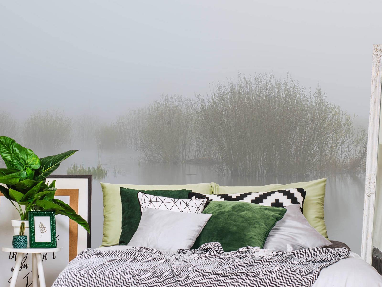 Landschap - Mist in natuurgebied - Slaapkamer 13