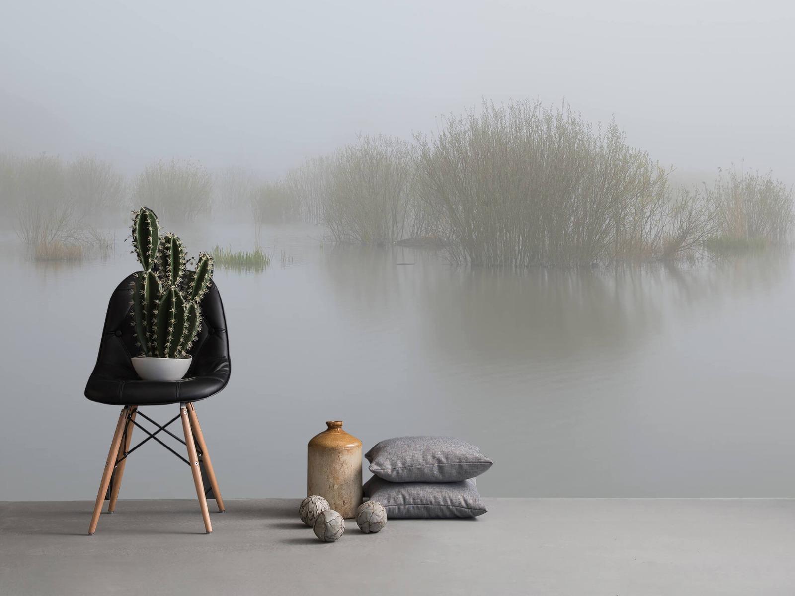 Landschap - Mist in natuurgebied - Slaapkamer 14