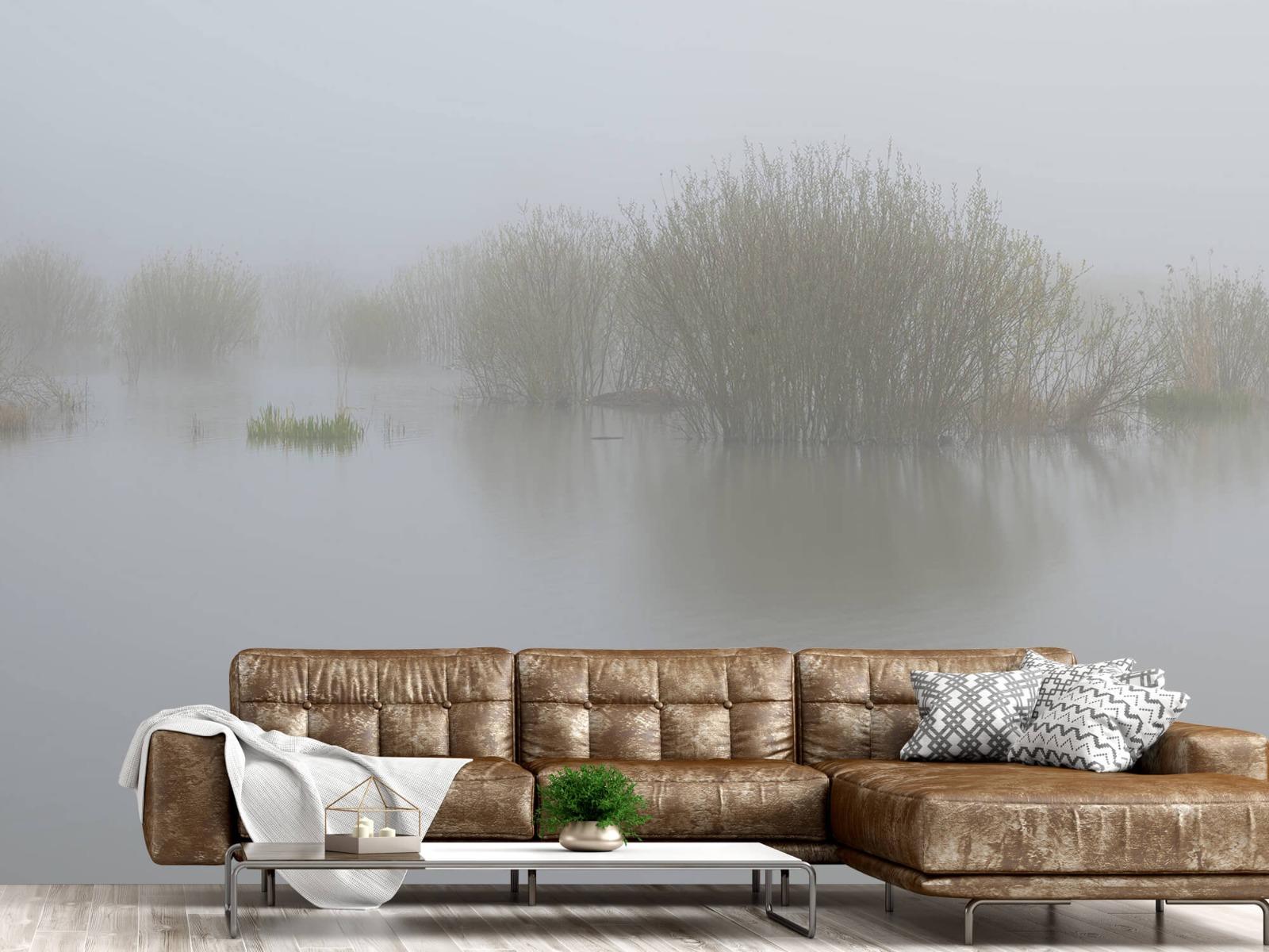Landschap - Mist in natuurgebied - Slaapkamer 15
