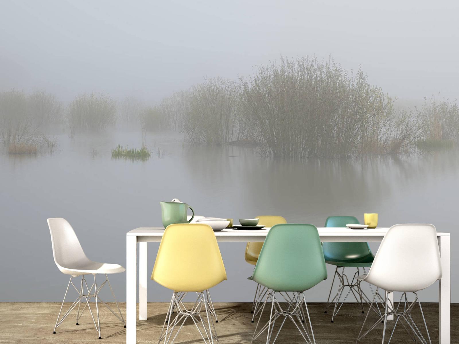 Landschap - Mist in natuurgebied - Slaapkamer 16