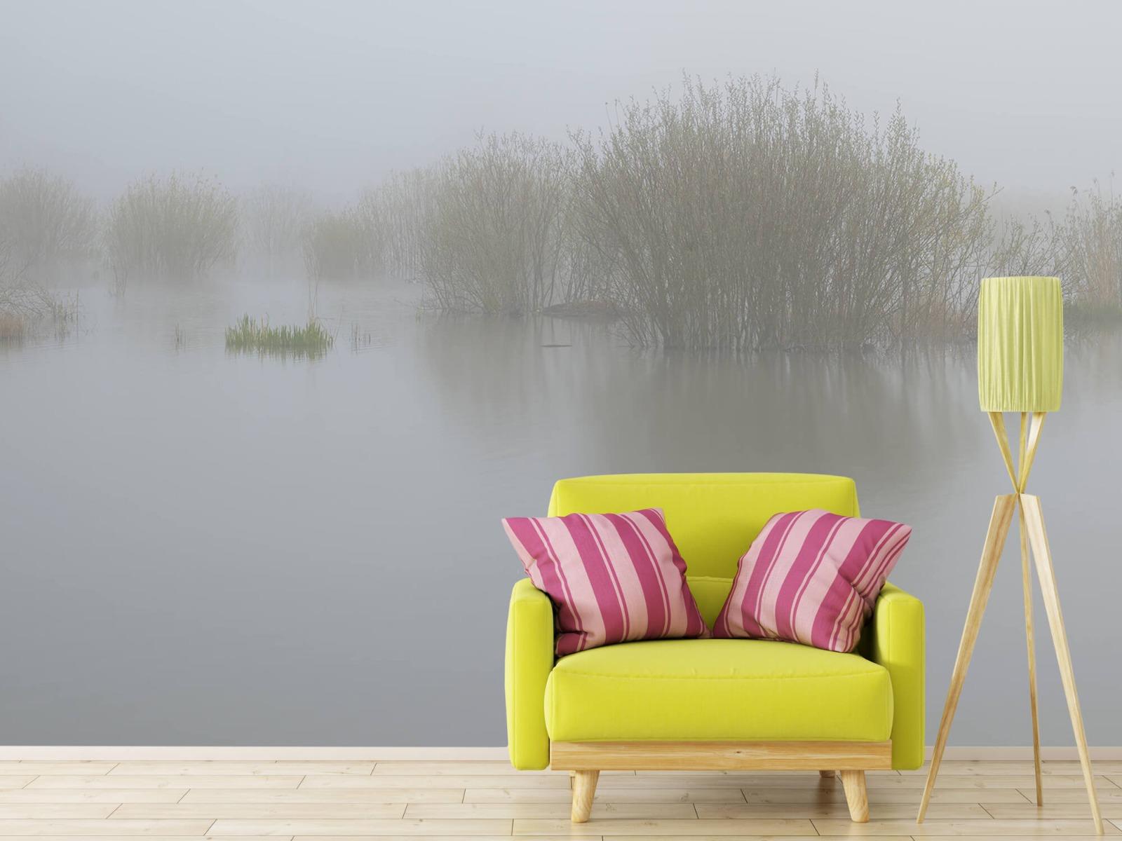 Landschap - Mist in natuurgebied - Slaapkamer 18