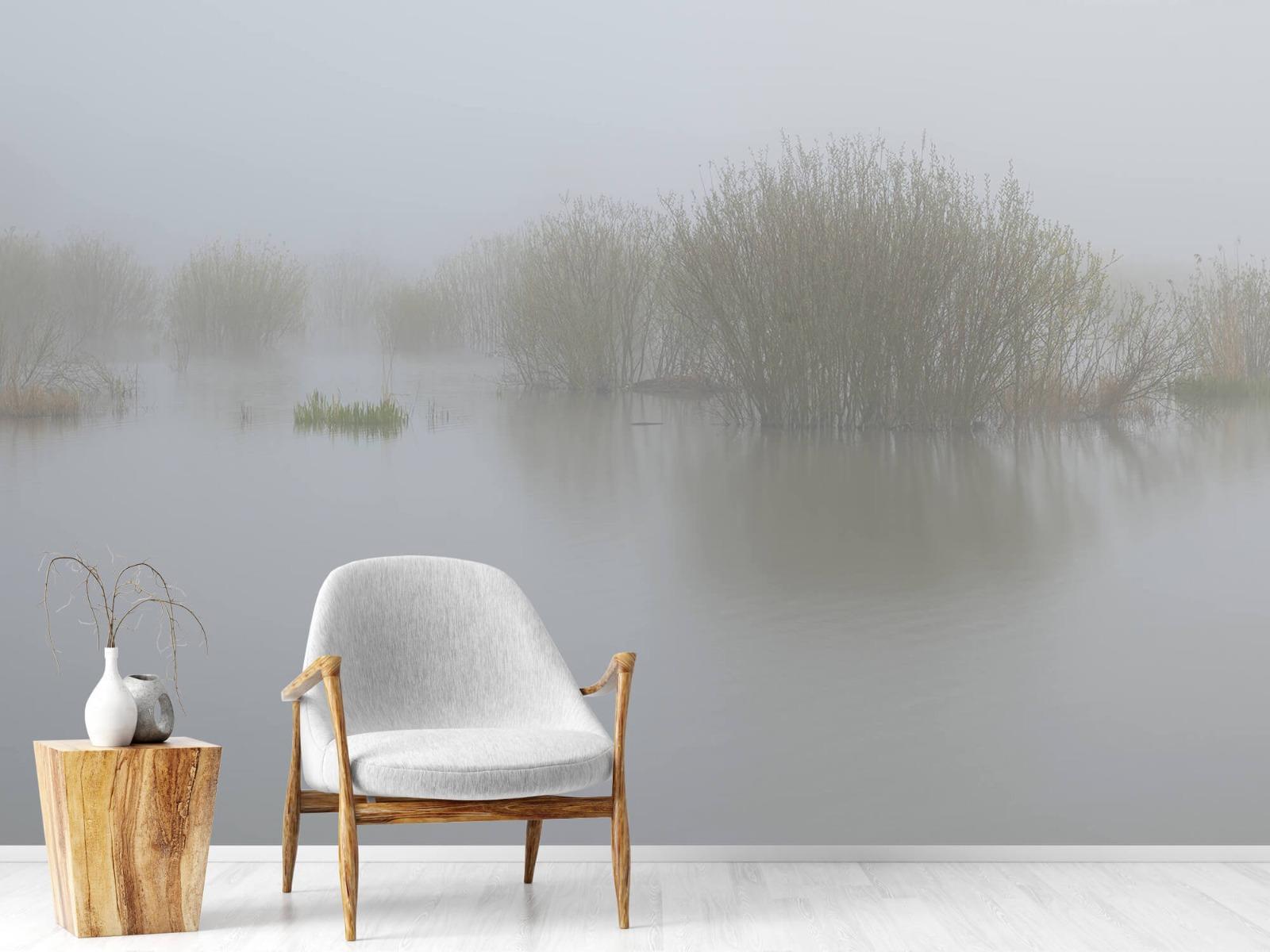 Landschap - Mist in natuurgebied - Slaapkamer 1