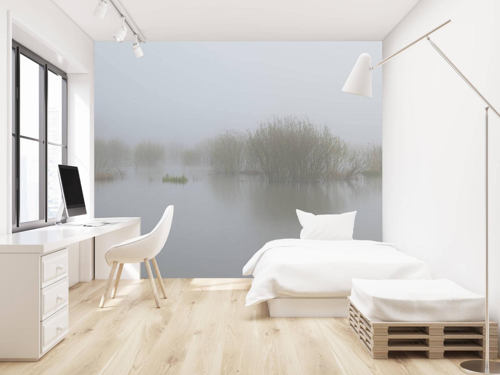 Landschap - Mist in natuurgebied - Slaapkamer 22
