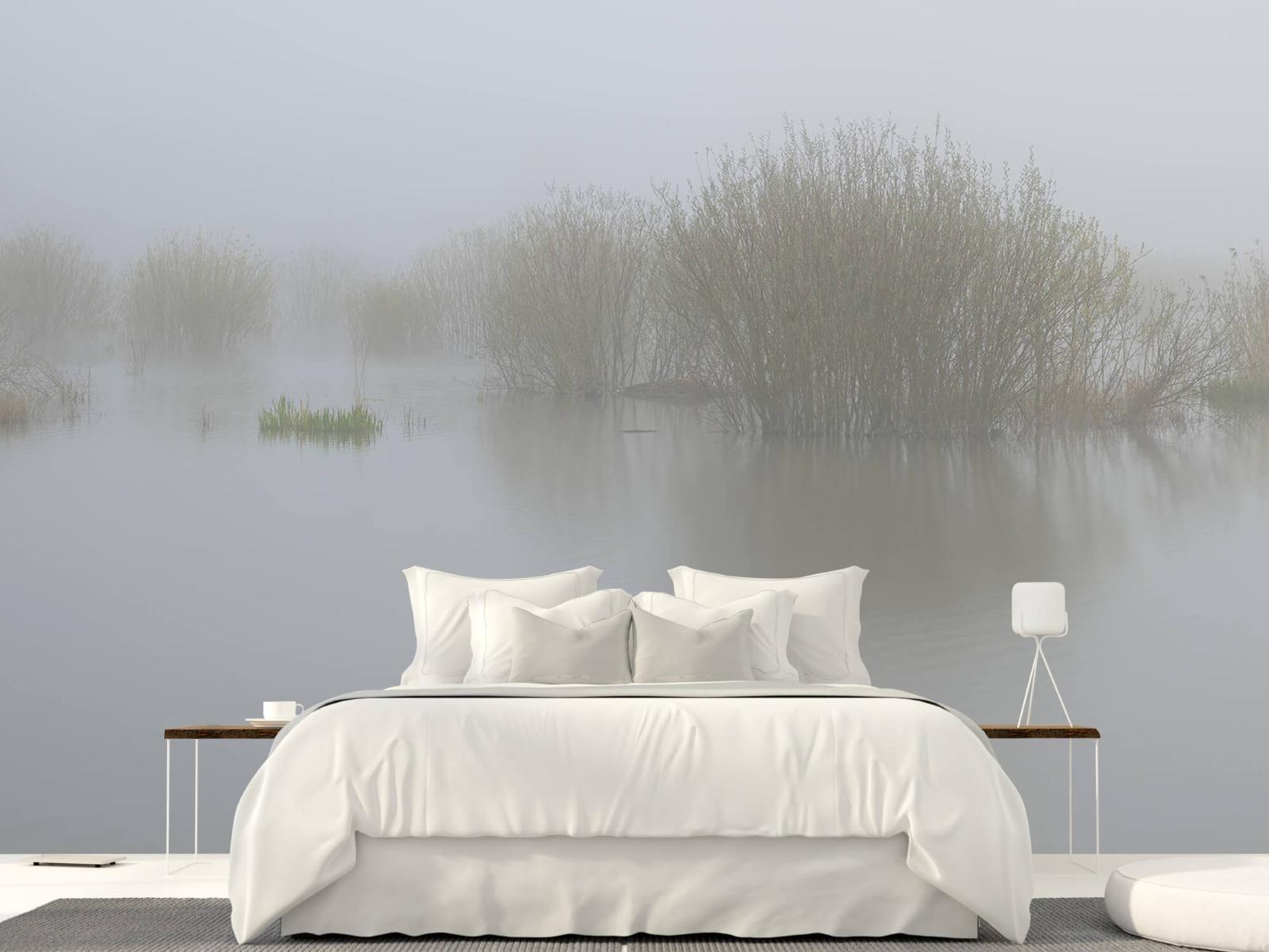 Landschap - Mist in natuurgebied - Slaapkamer 23