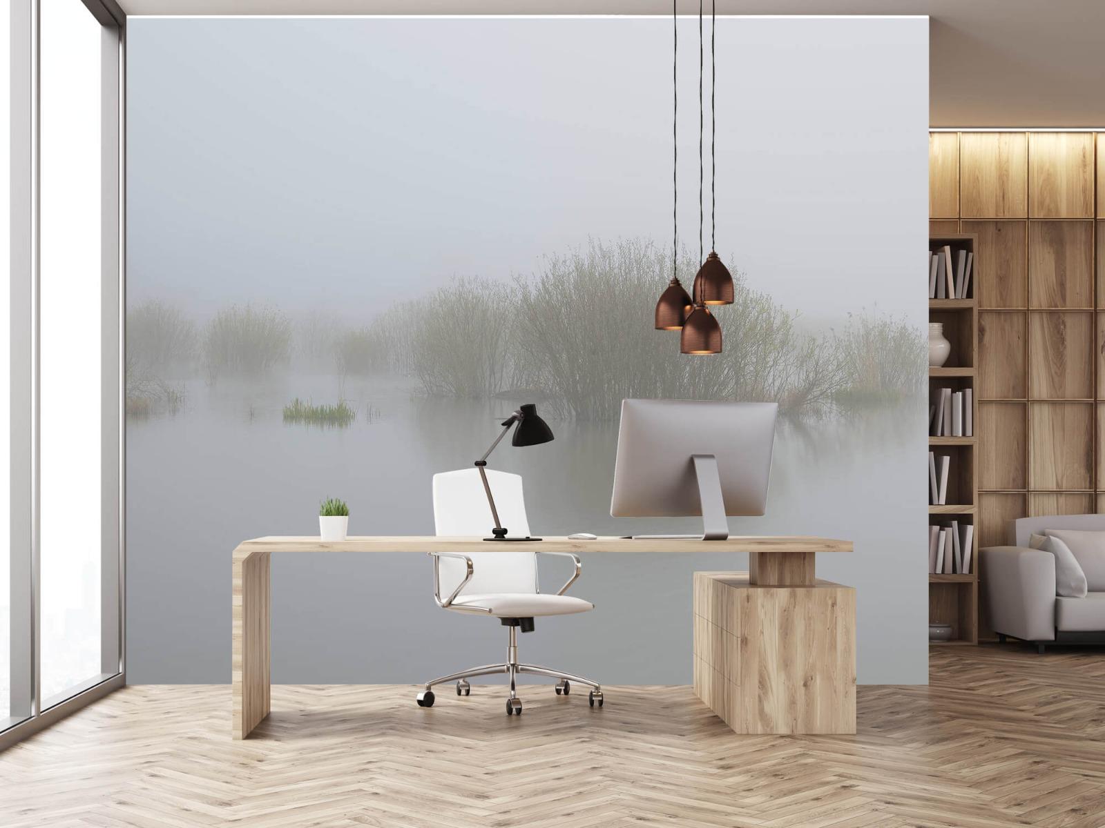 Landschap - Mist in natuurgebied - Slaapkamer 24