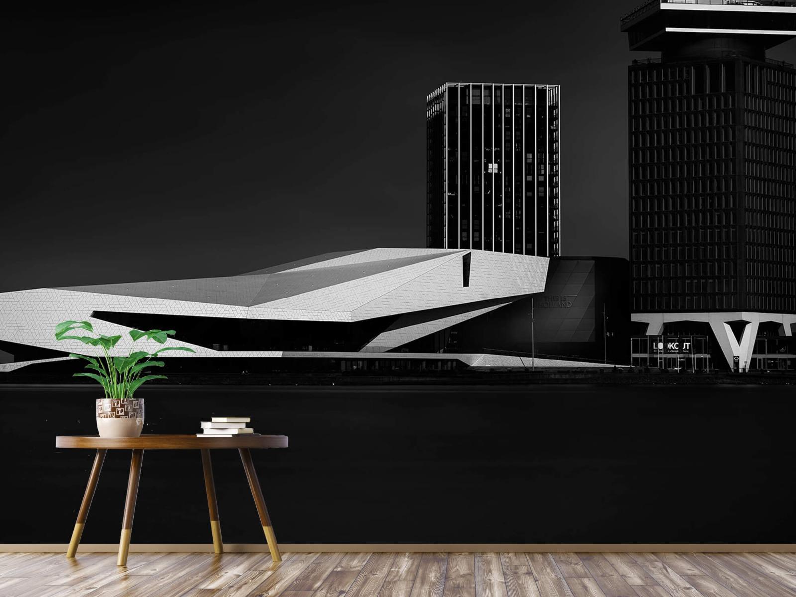 Modern behang - Gebouwen Amsterdam - Tienerkamer 4