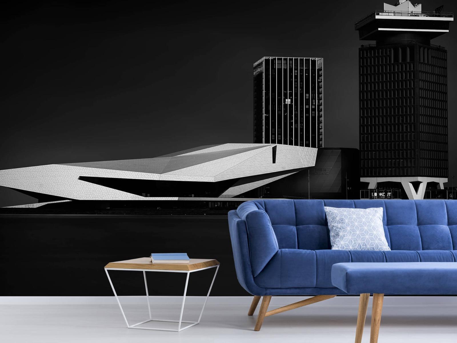 Modern behang - Gebouwen Amsterdam - Tienerkamer 5