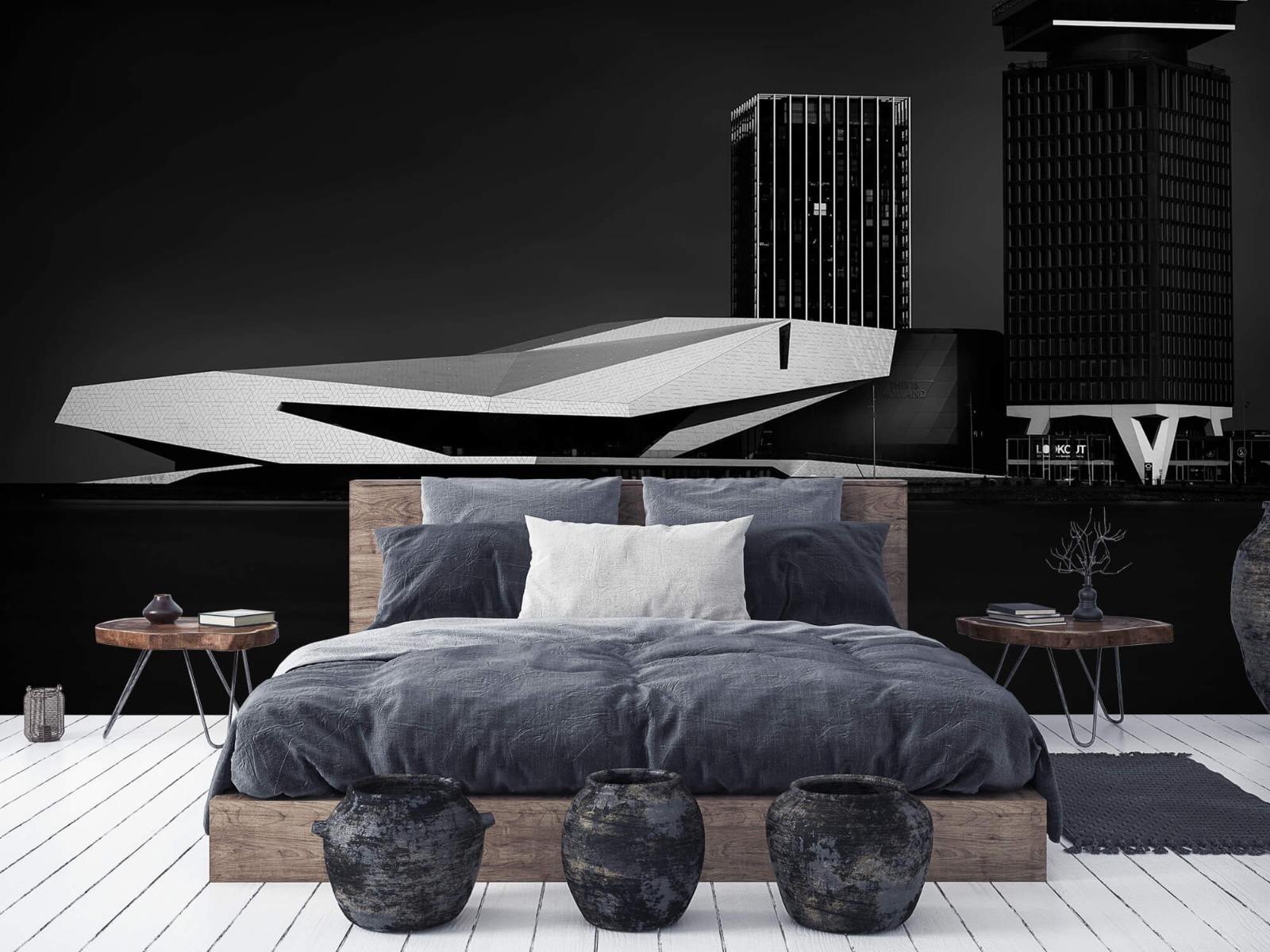 Modern behang - Gebouwen Amsterdam - Tienerkamer 6