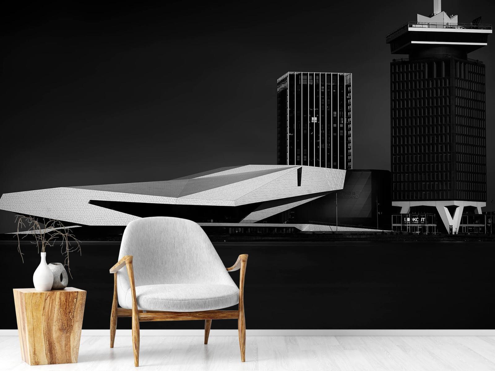 Modern behang - Gebouwen Amsterdam - Tienerkamer 18