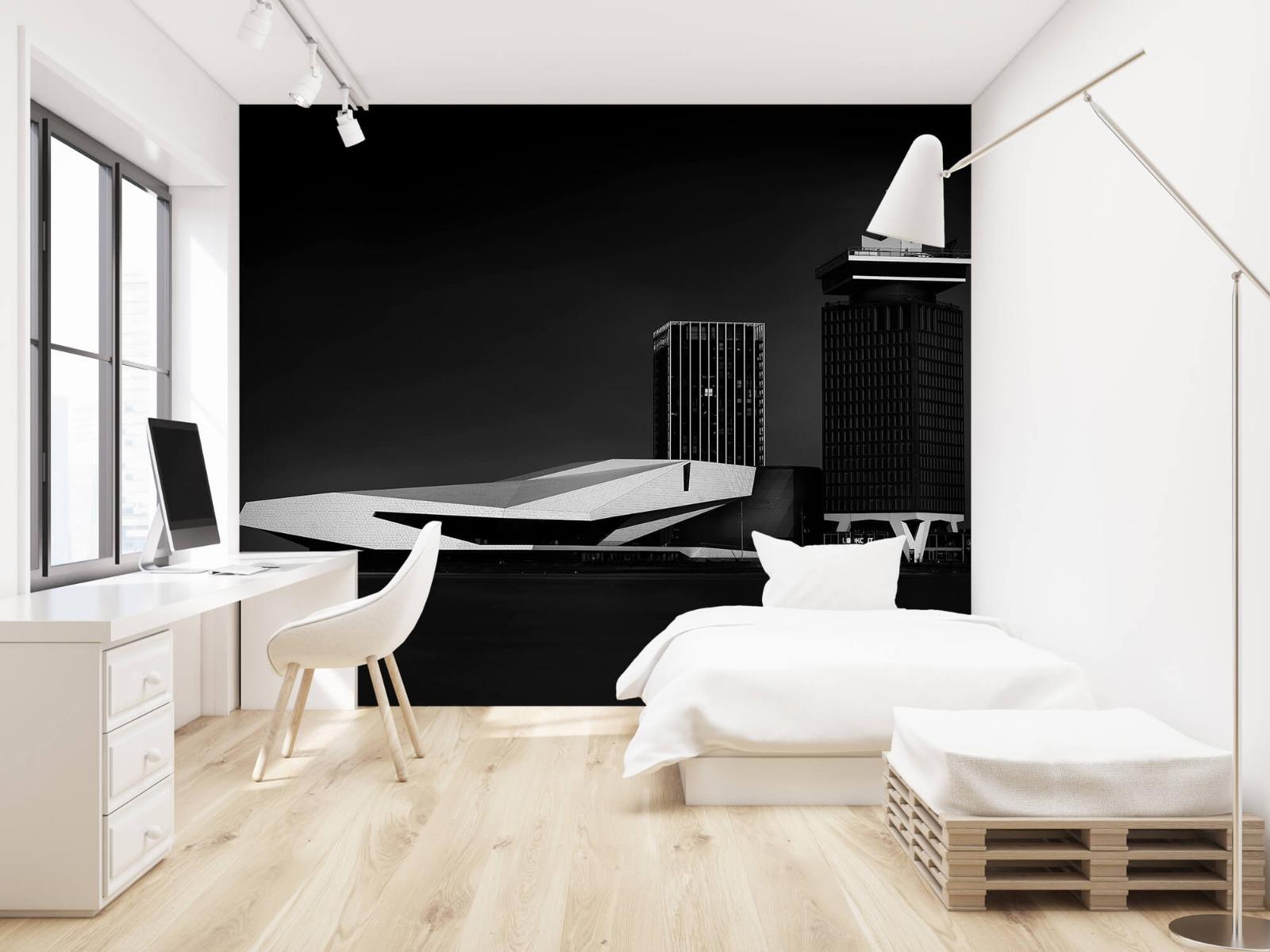 Modern behang - Gebouwen Amsterdam - Tienerkamer 22