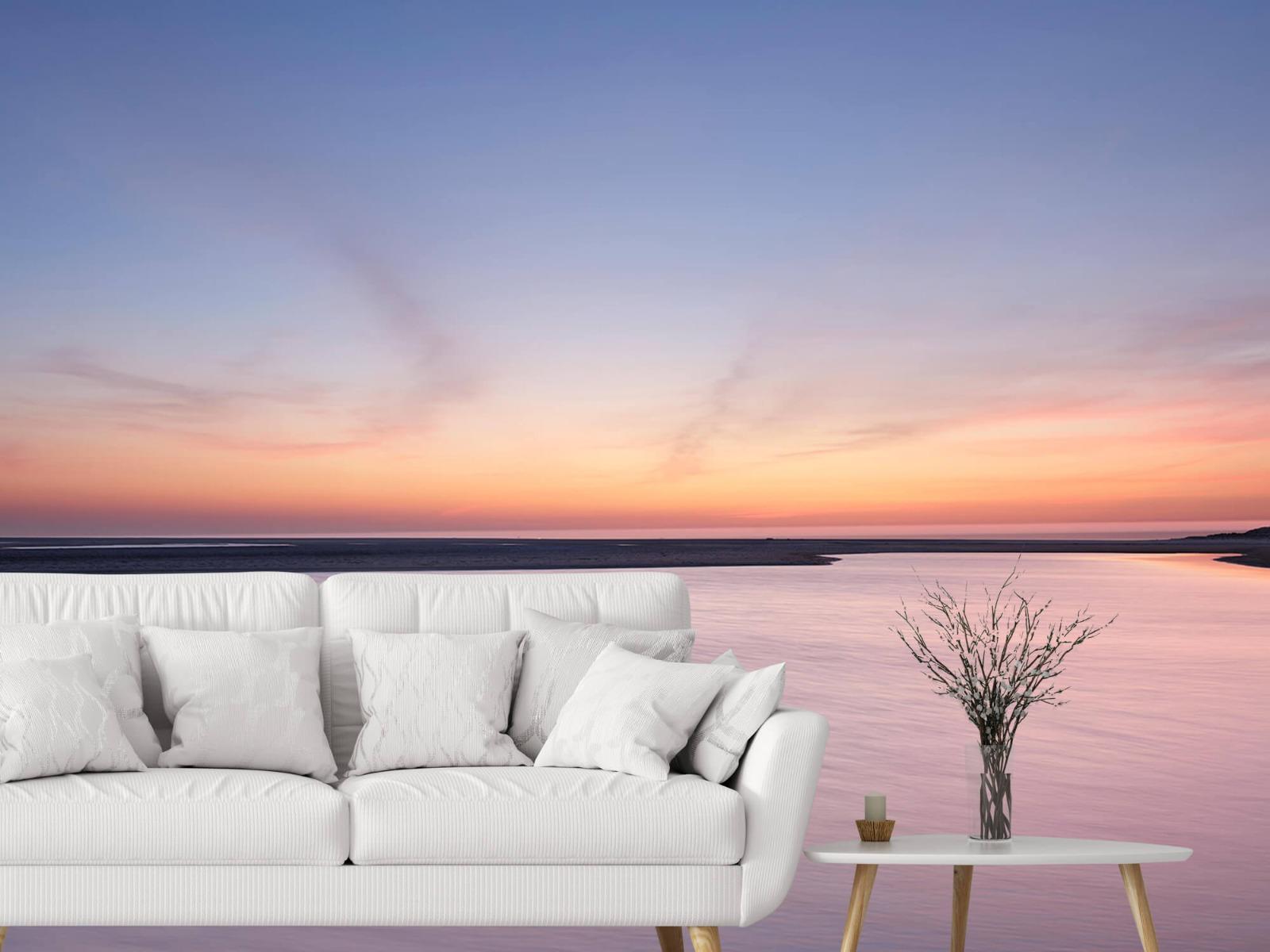 Zeeën en Oceanen - Zonsondergang aan zee - Slaapkamer 3