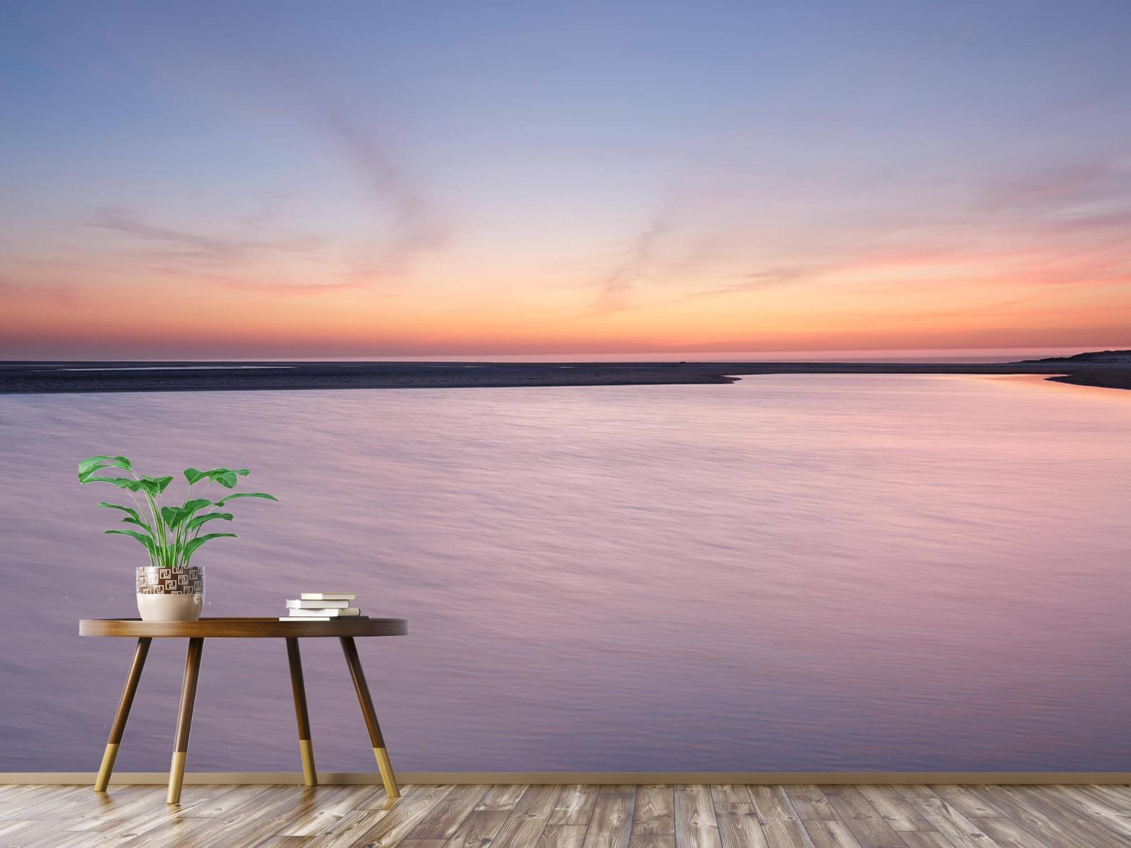 Zeeën en Oceanen - Zonsondergang aan zee - Slaapkamer 4
