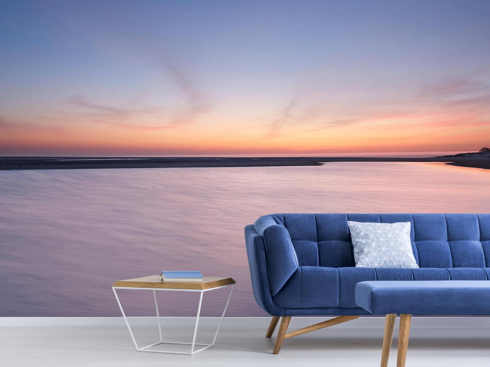 Zeeën en Oceanen - Zonsondergang aan zee - Slaapkamer 5