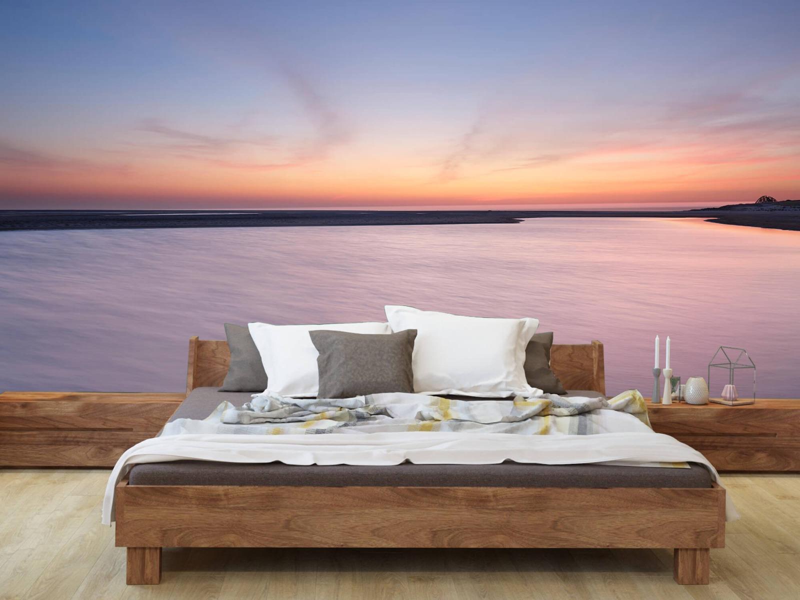 Zeeën en Oceanen - Zonsondergang aan zee - Slaapkamer 8