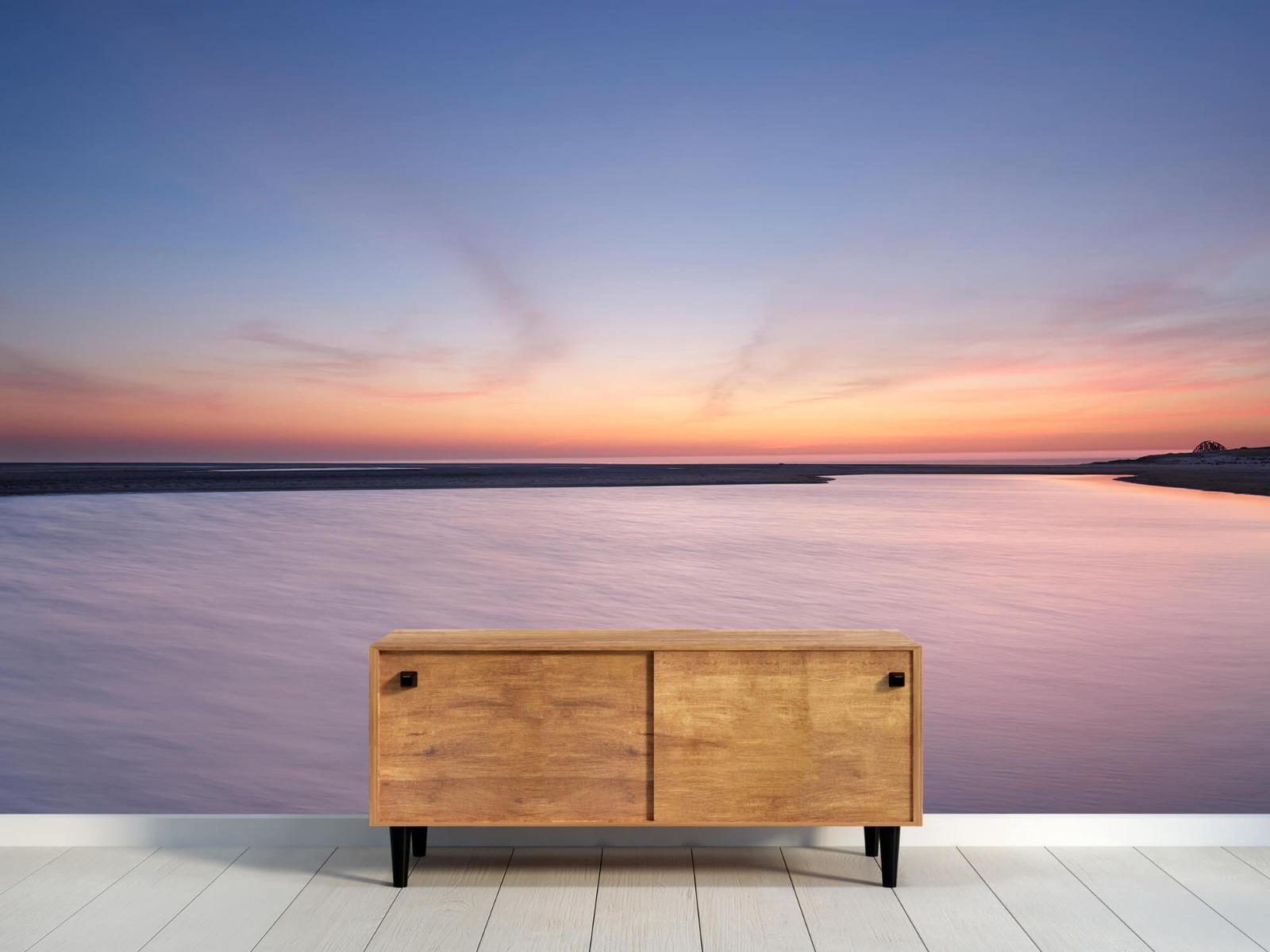 Zeeën en Oceanen - Zonsondergang aan zee - Slaapkamer 9
