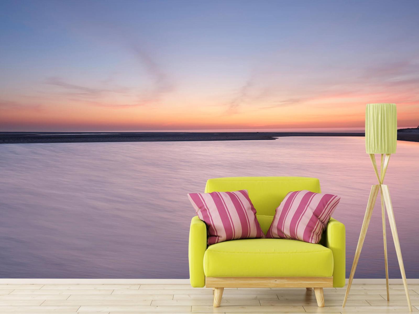 Zeeën en Oceanen - Zonsondergang aan zee - Slaapkamer 17