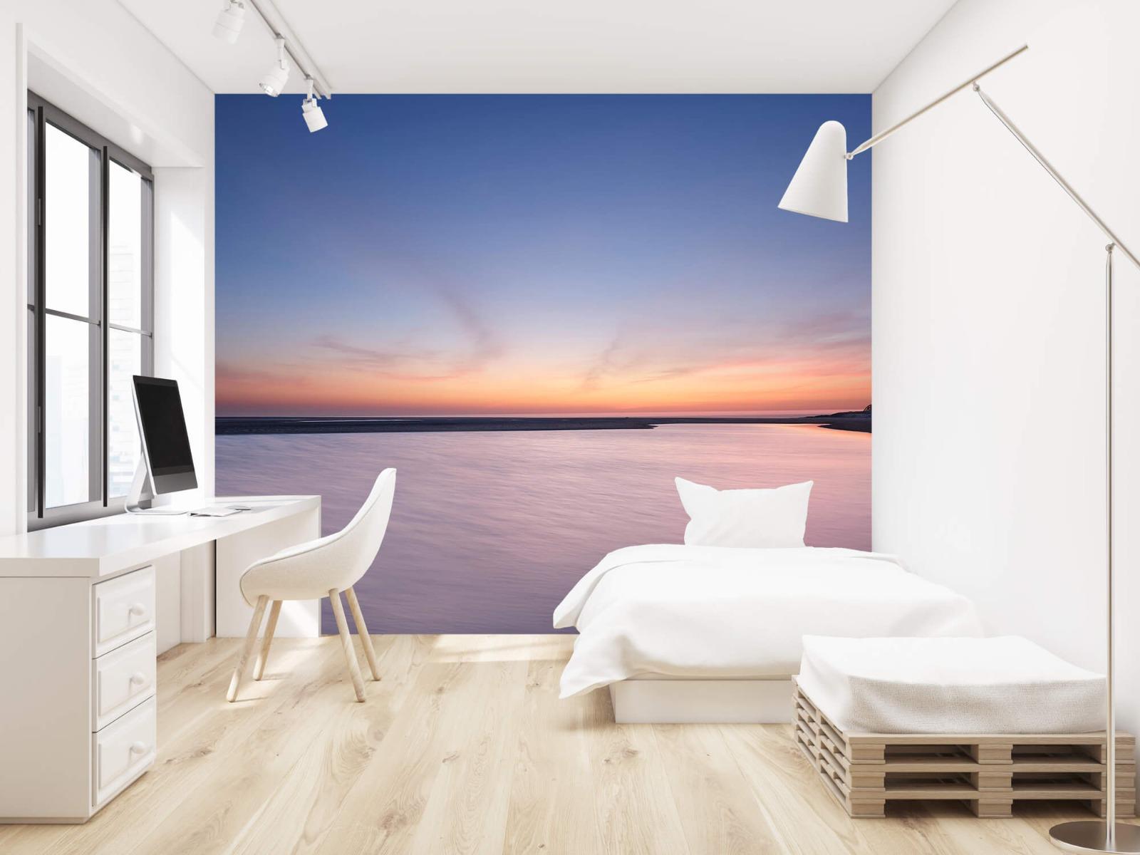 Zeeën en Oceanen - Zonsondergang aan zee - Slaapkamer 22