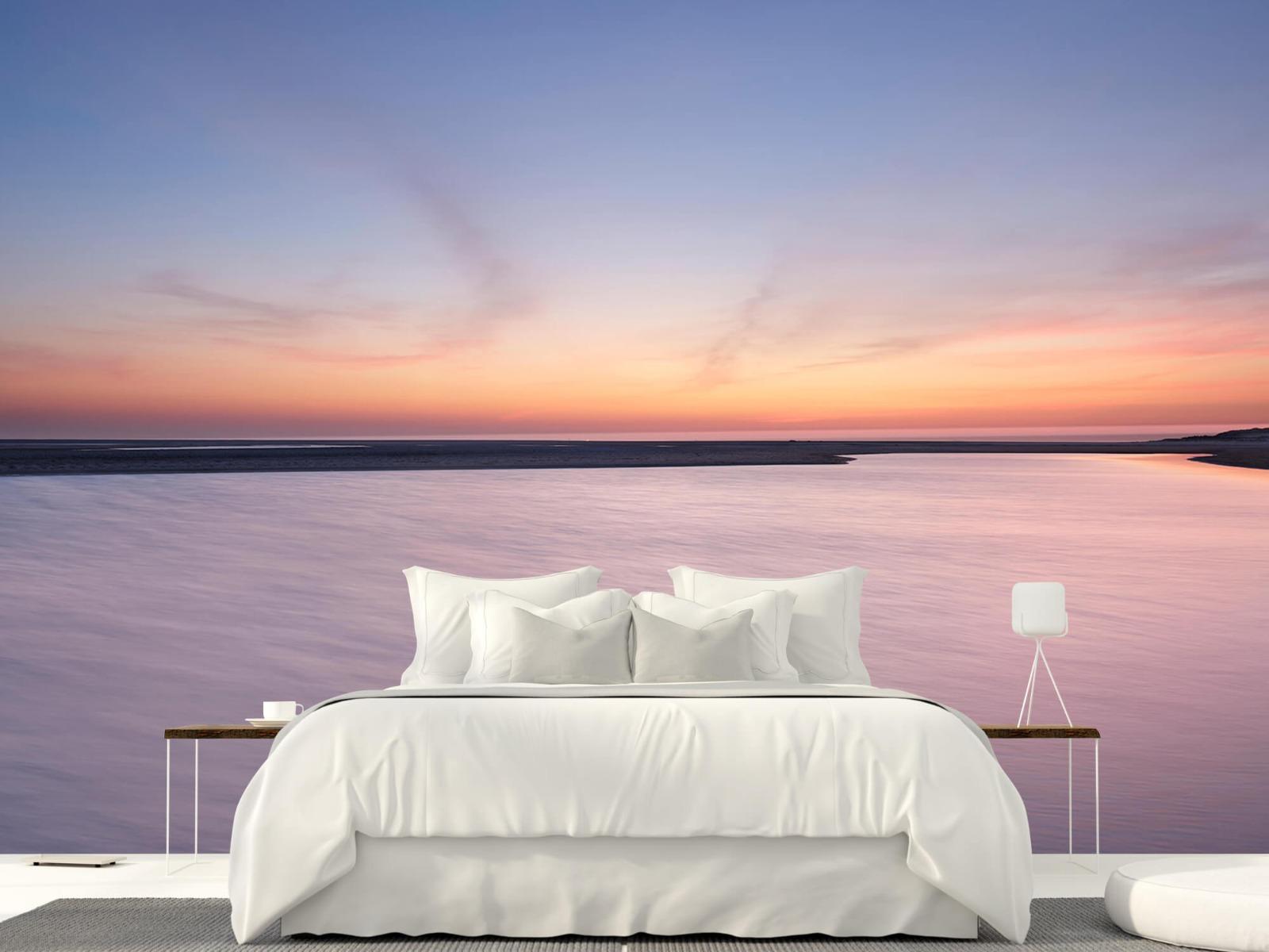 Zeeën en Oceanen - Zonsondergang aan zee - Slaapkamer 23
