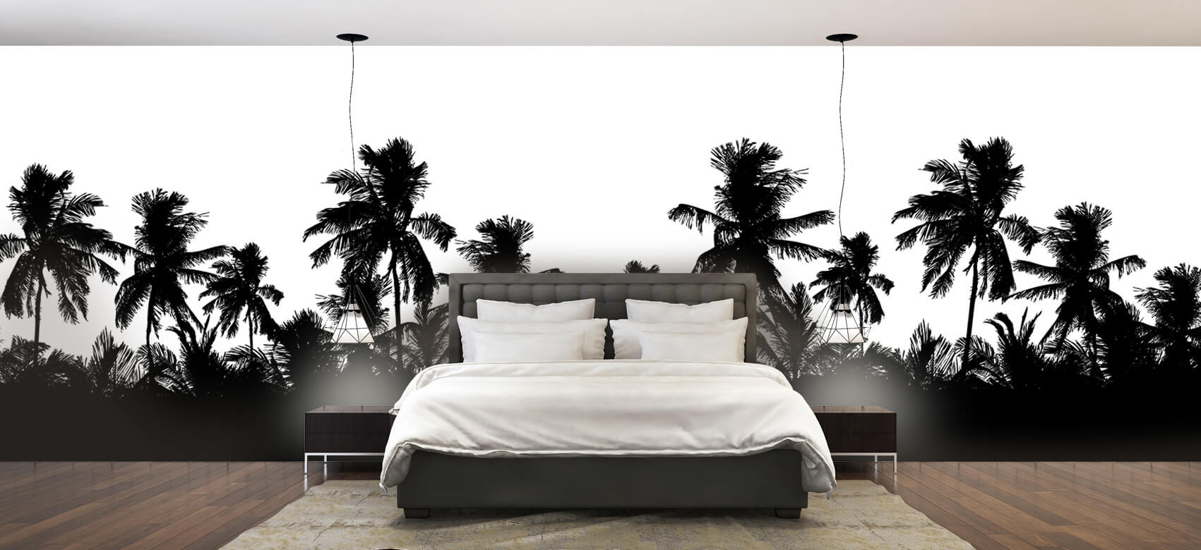 Jungle Silhouette palmbomen 2
