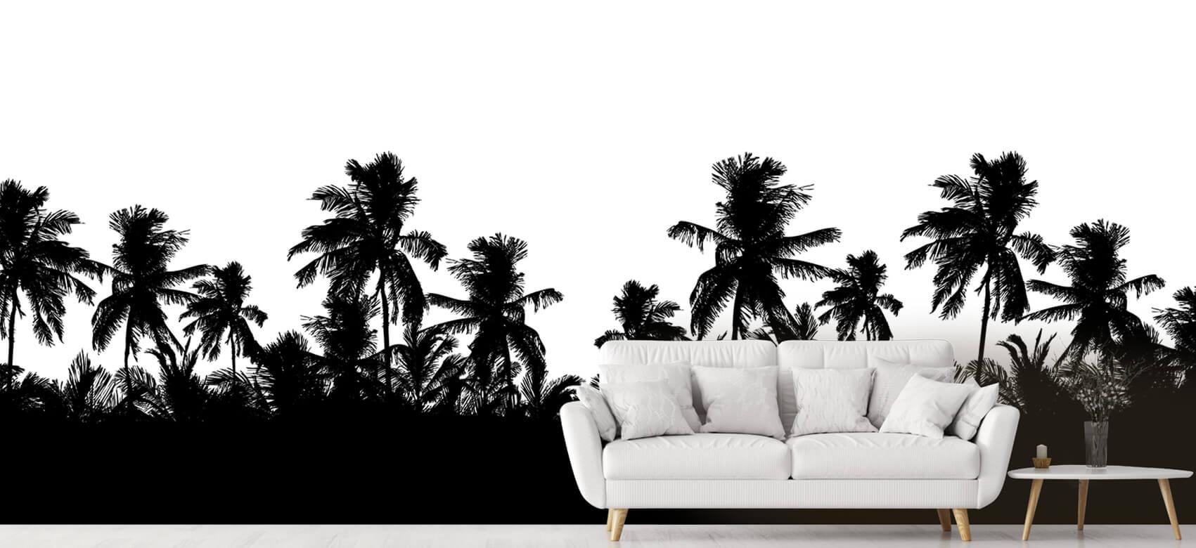 Jungle Silhouette palmbomen 6