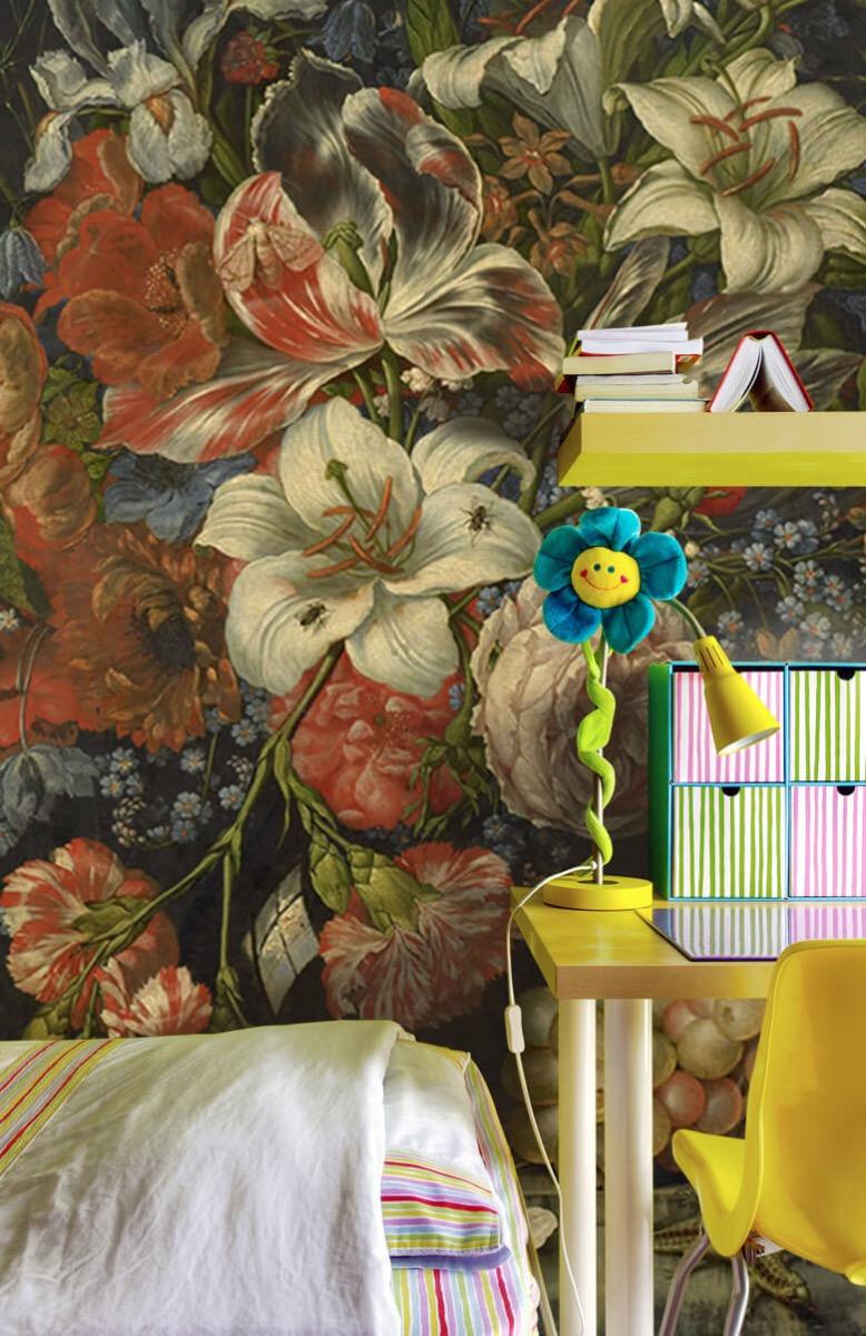 Kunst Stilleven met bloemen en vruchten 8