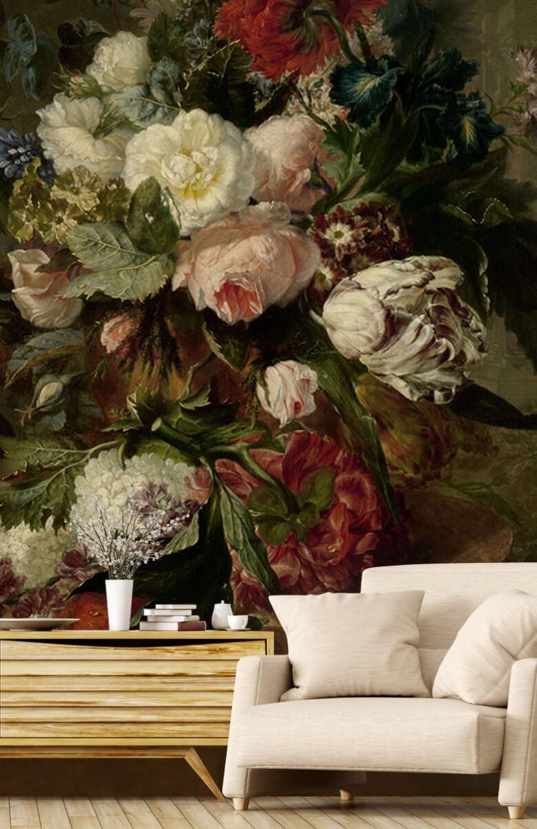 Kunst Stilleven met bloemen 2
