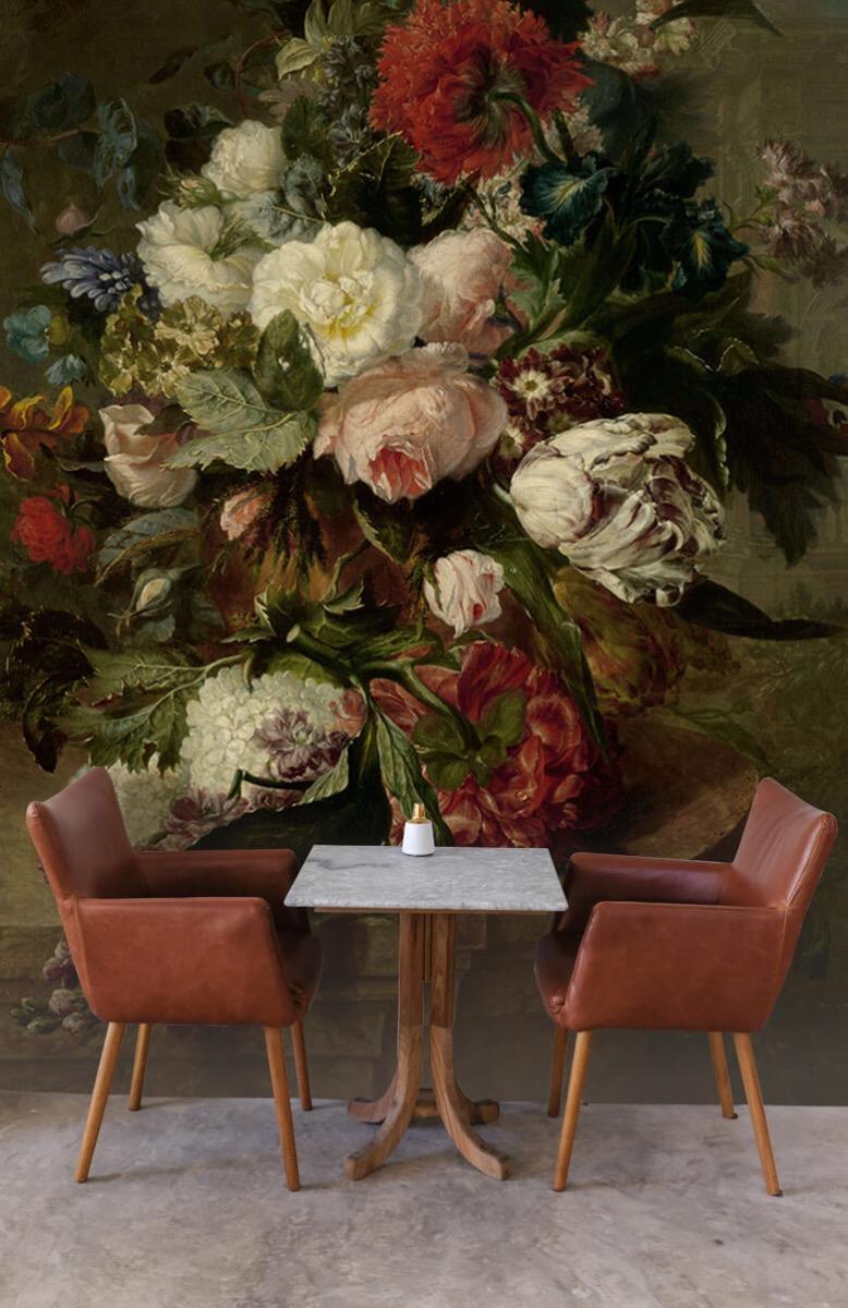 Kunst Stilleven met bloemen 4