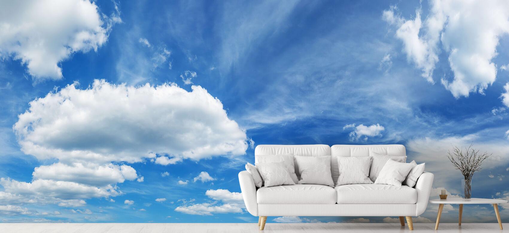 Natuur Blauwe lucht met wolken 6