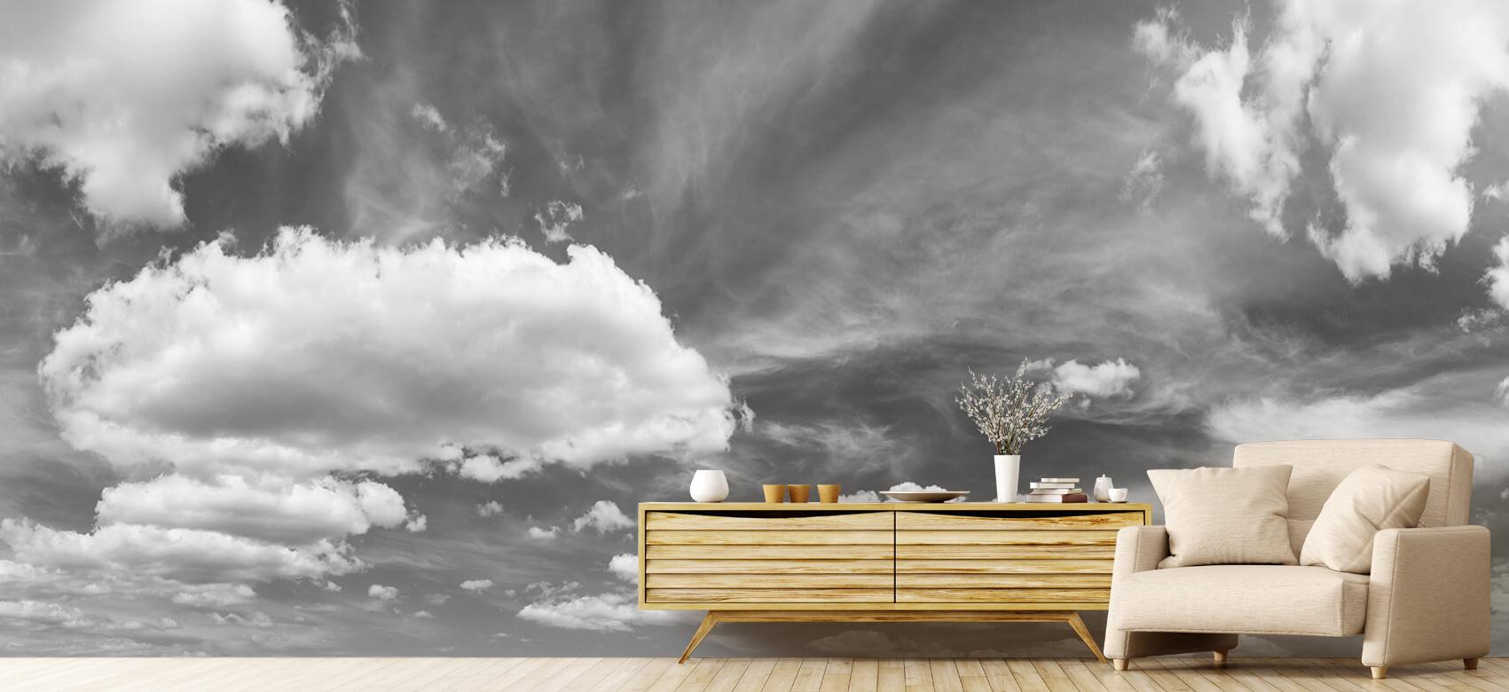 Natuur Blauwe lucht met wolken 8