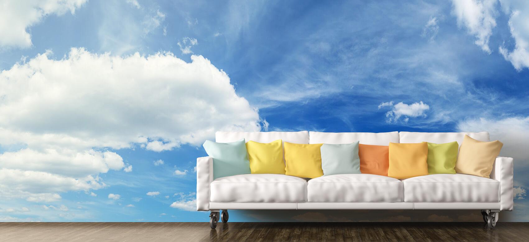 Natuur Blauwe lucht met wolken 10