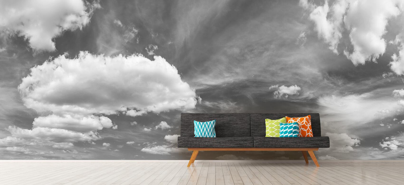 Natuur Blauwe lucht met wolken 13