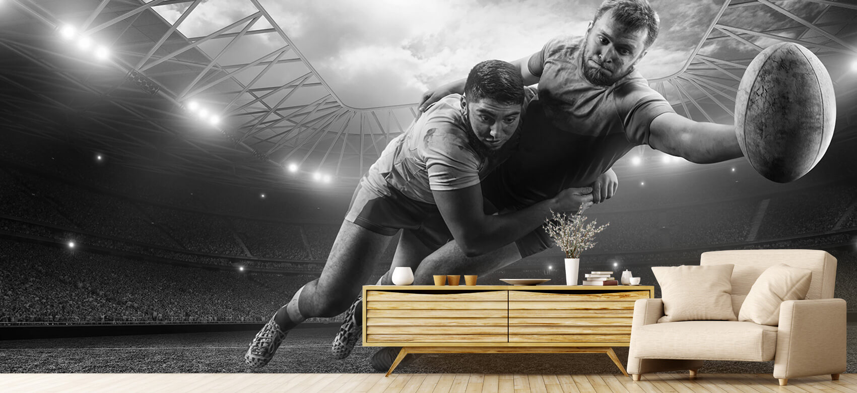 Sport Rugby spelers 8