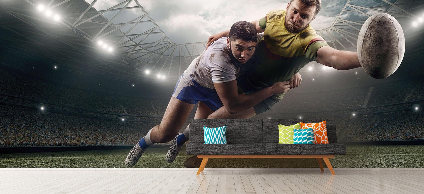 Sport Rugby spelers 12