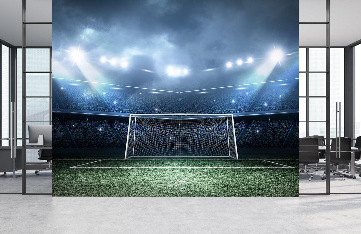 Sport Stadion met goal 1