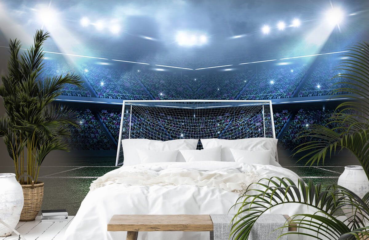 Sport Stadion met goal 6