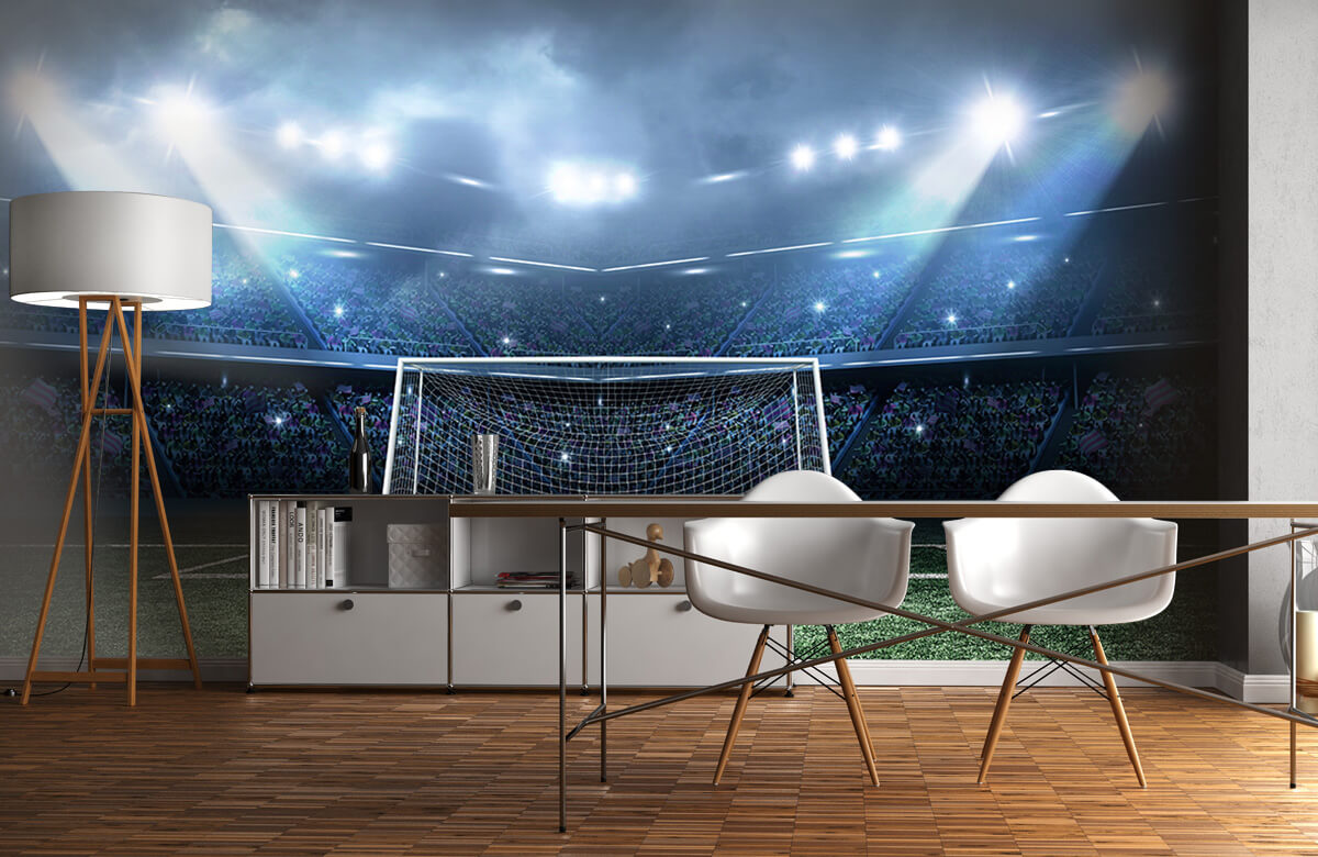 Sport Stadion met goal 11