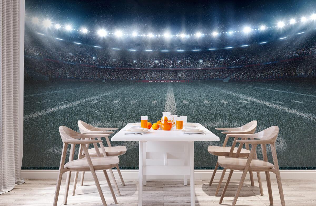 Sport 3D voetbal stadion 2