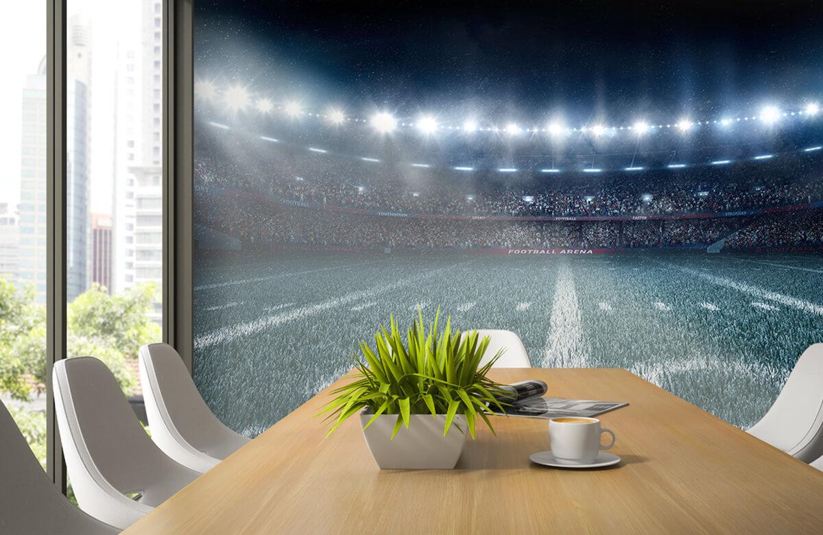 Sport 3D voetbal stadion 1
