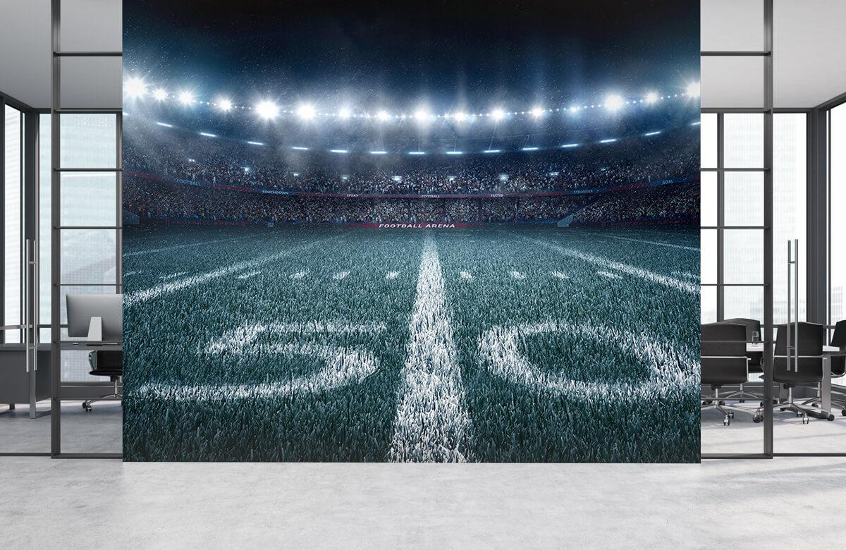 Sport 3D voetbal stadion 3