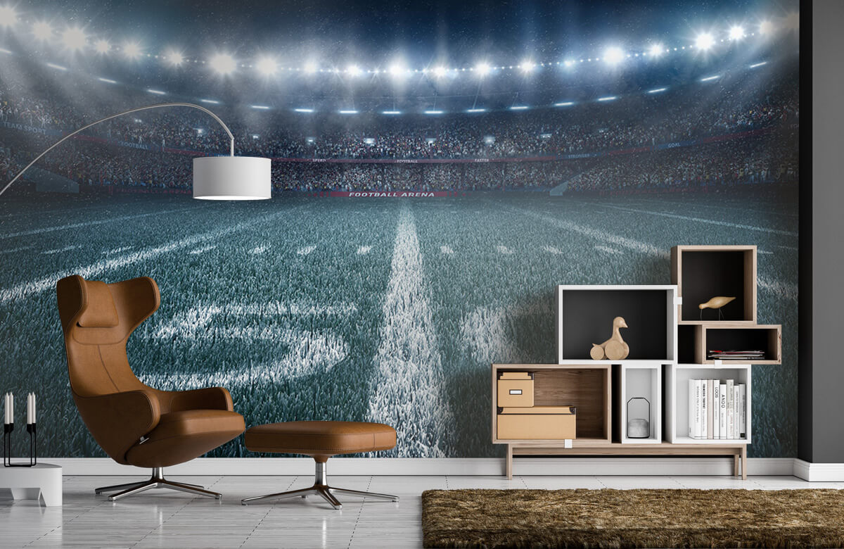 Sport 3D voetbal stadion 4
