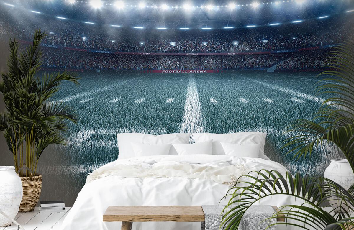 Sport 3D voetbal stadion 6