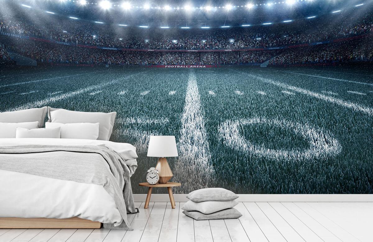 Sport 3D voetbal stadion 7