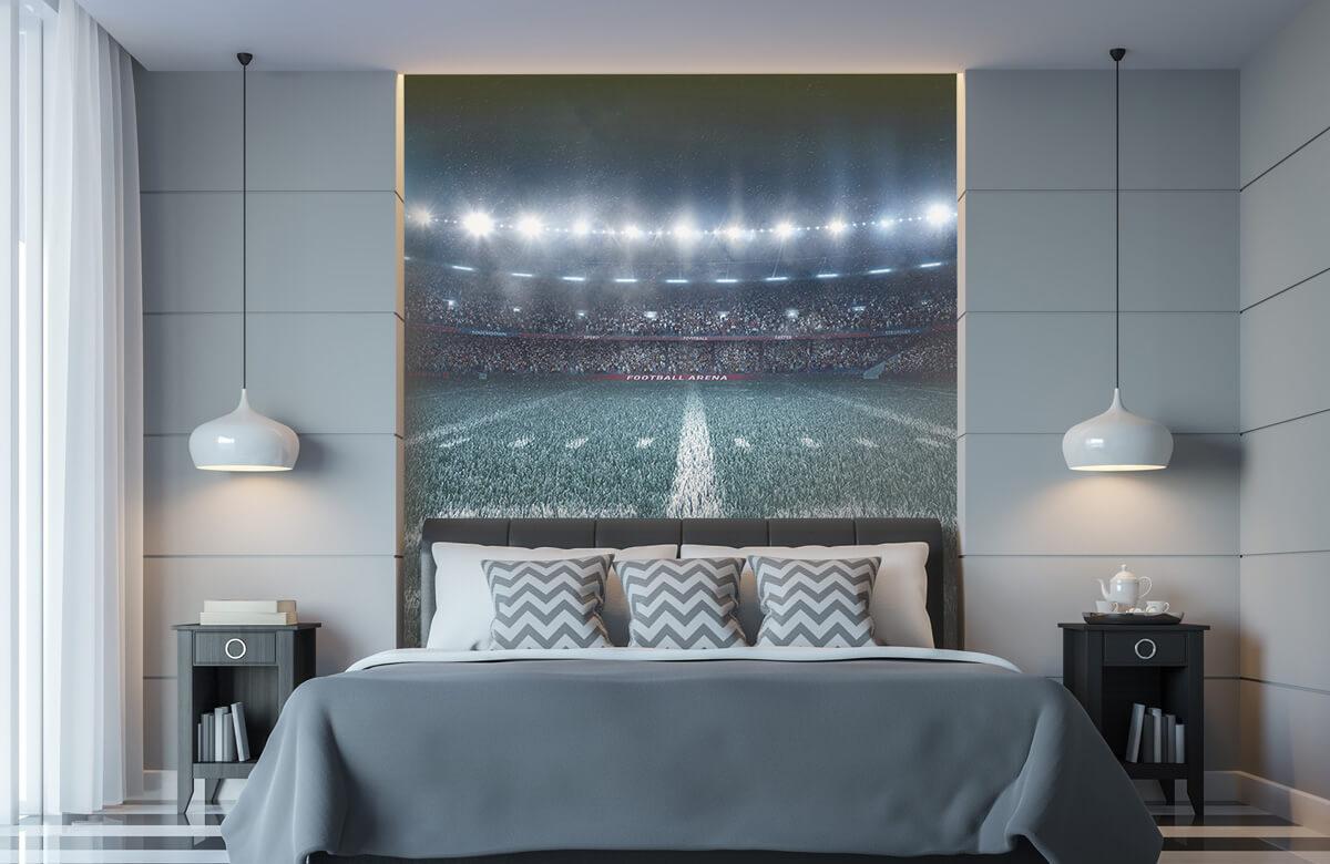 Sport 3D voetbal stadion 8